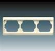 Rámeček pro elektroinstalační přístroje, trojnásobný vodorovný