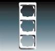 Rámeček pro elektroinstalační přístroje, trojnásobný svislý