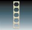 Rámeček pro elektroinstalační přístroje, pětinásobný svislý